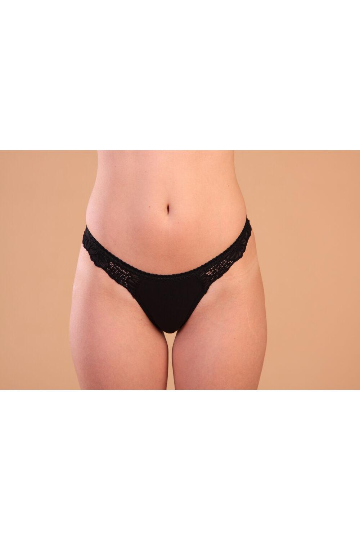 Bikini fazonú, csipkés női alsó